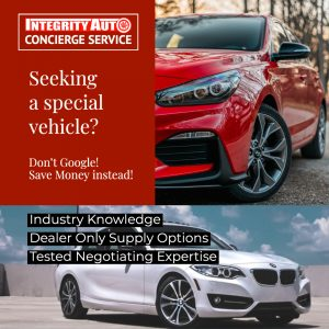 Seeking a certain vehicle? Integrity Auto LC Concierge Buying Experience, Las Cruces